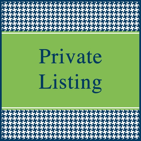 Private listing for MollyTidwell