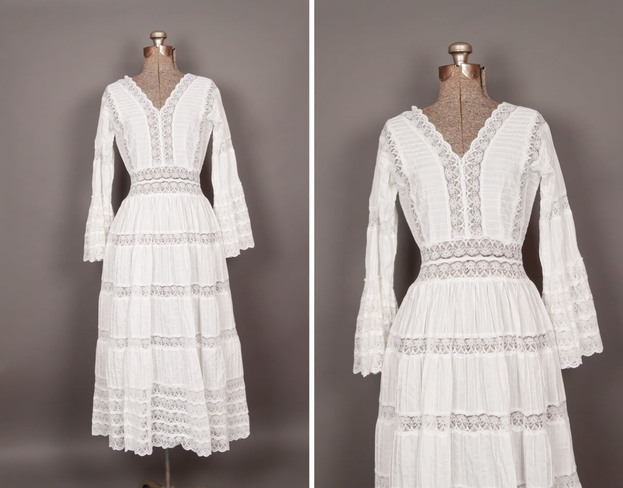 Vintage Mexican Wedding Dresses 29