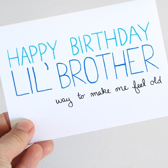 Birthday Quotes For Younger Brother From Sister: Birthday Quotes For Younger Brother. QuotesGram