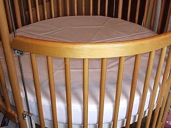 Round Crib Mattress Protector .... Tidy Tinkle Mattress Protector...