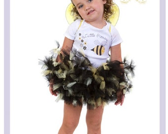 Bumble Bee Tutu Outfit Little Baby Bumblebee Costume Black And Yellow Tutu Toddler 2t 3t 4t