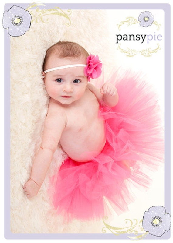 Hot Pink Tutu Dress Hot Pink Baby Dress Hot Pink Baby Tutu Hot