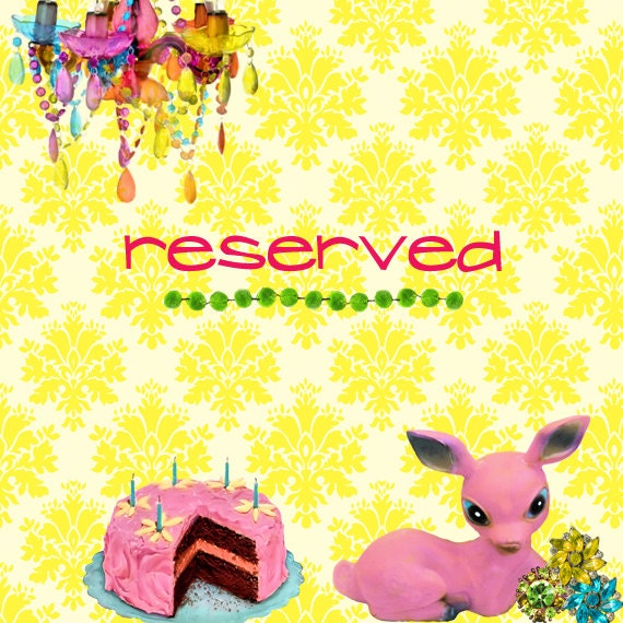 Reserved listing for Bernice