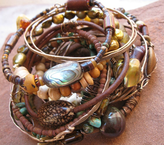 Anasazi Summer Gypsy Bangle Stack
