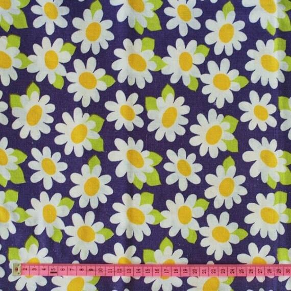 SALE- Seventies vintage fabric