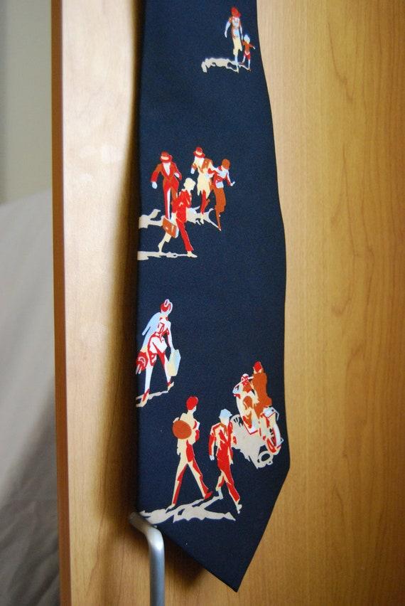Vintage Italian Vesuvio Tie (Free Shipping)