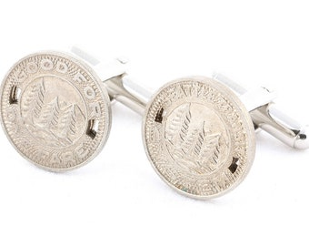 Seattle Transit Token Cufflinks