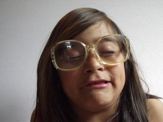 Vintage Droopy Nerd Glasses -  US Optical