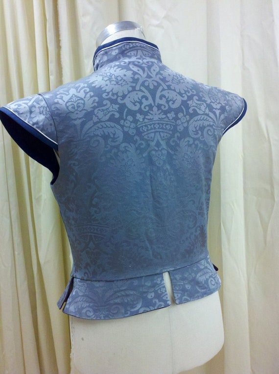 Light Blue Renaissance Men S Brocade Doublet For Faire Or