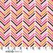 ON SALE--Madrona Road---Broken Herringbone in Pink---1 yard--Violet Craft for Michael Miller Fabrics