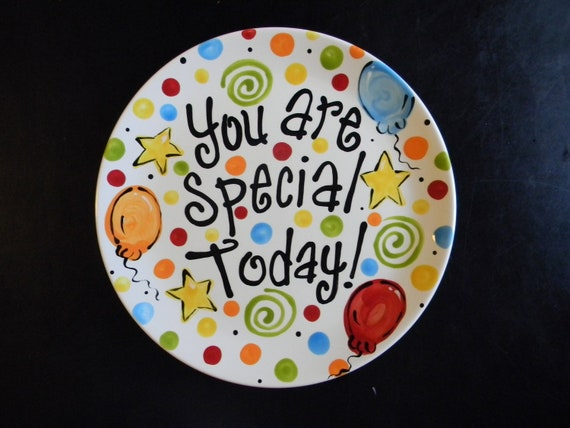 Birthday Plate It S Your Special Day 10 Inch By