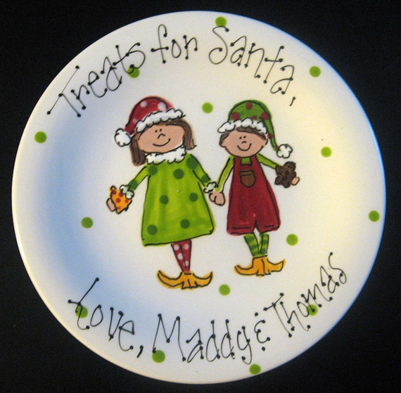 Hand Painted Treats for Santa with Santa's Little Helpers