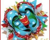 Boutique Summer Beach Sand Pail Hair bows