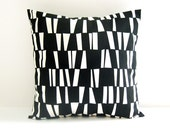 Black Pillow Cover Decorative Pillow Cushion Cover 8 Sizes Available