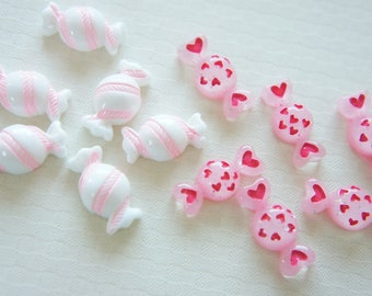 8 pcs Candy Cabochon (10mm-22mm) CD407
