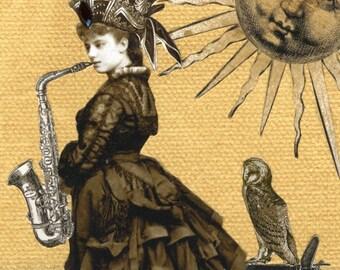Hassada and her Saxophone