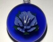 Summer Floral Focal Glass Pendant