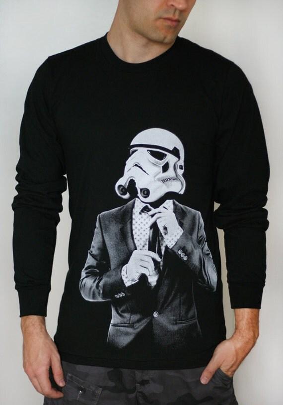 Storm trooper Smart Trooper - Mens / Unisex Long Sleeve ( Star Wars long sleeve )