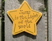 DOLLAR DAYS CLOSEOUT Jesus is the Light of the World Christmas Ornament