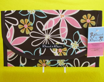 Daisy Dreams Diaper and Wipes Case Holder Clutch