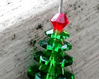 Six Swarovski Crystals for a Christmas Tree
