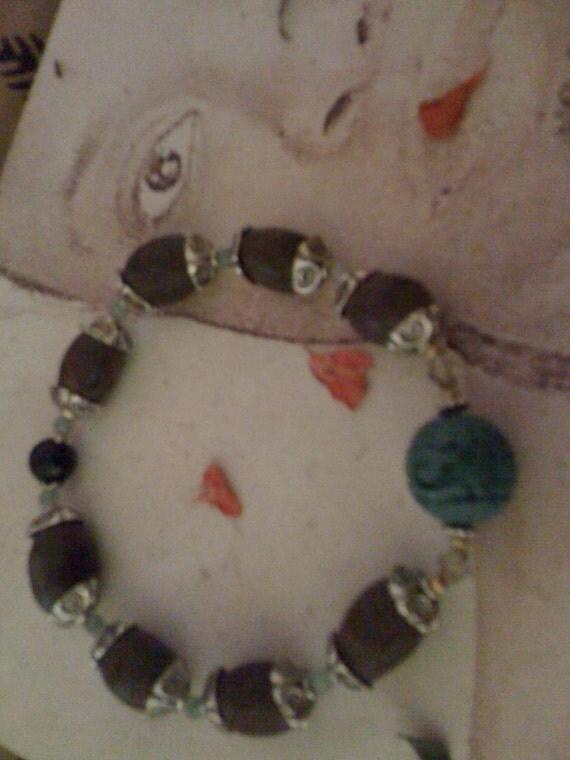 Padmakara- Yoga Bracelet Lotus Seeds to Grace Your Lotuslike Hand