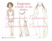 Eugenia, A Bride of the 1920's Paper Doll