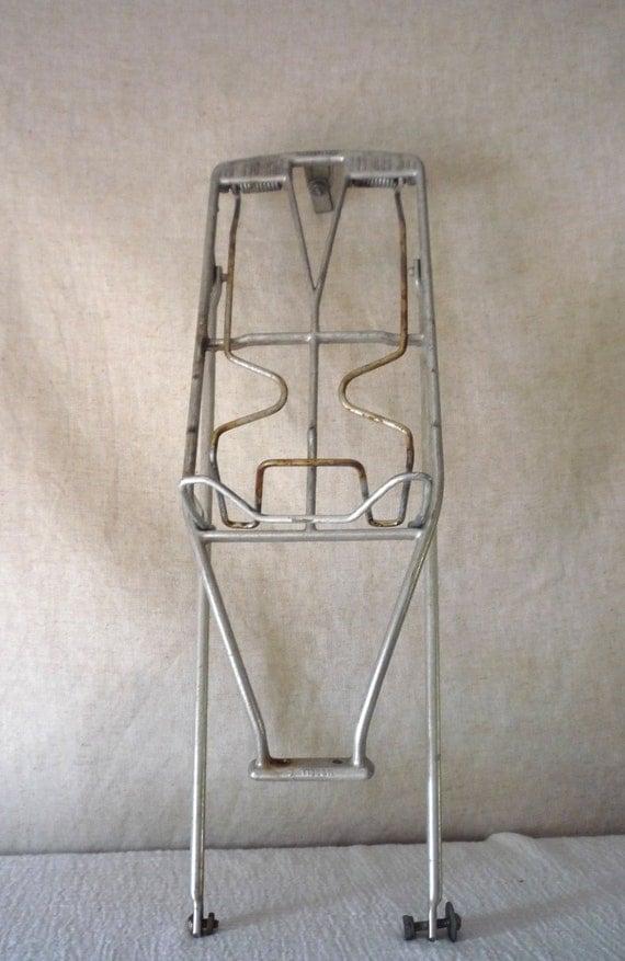 Vintage Bicycle / Bike Rear Wheel  Luggage / Carry Rack, Retro Spring Loded Bike Carrier