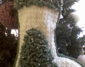 SALE. Order any 2 for 60 dollars..Personalized, appliqued Christmas Stockings made to order.