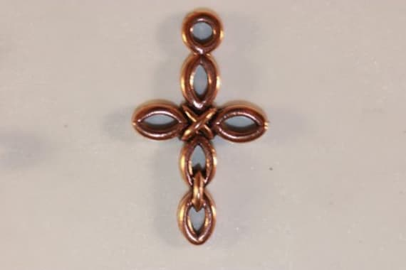 One Linked Copper Cross