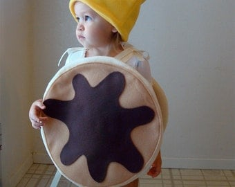 Kids Costume Childrens Costume Pancake Halloween Costume Pancakes with Syrup and Butter