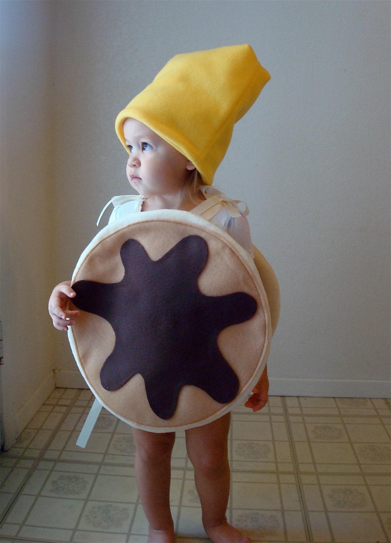 Kids Costume Childrens Costume Pancake Halloween Costume