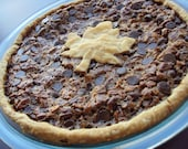 "Reserved for Lauren Brown - 2 qty of 9"" Vegan Chocolate Chip Pecan Pie"