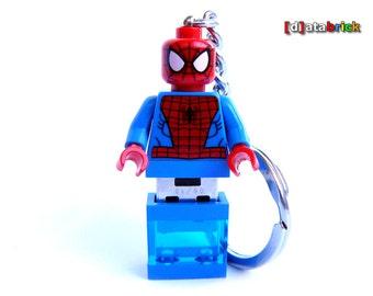 8GB to 64GB USB Flash Drive in original Lego® Minifigure Superhero Keychain Handmade