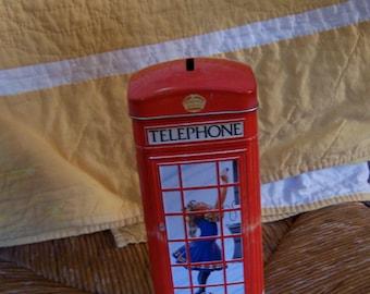 money box churchill tin