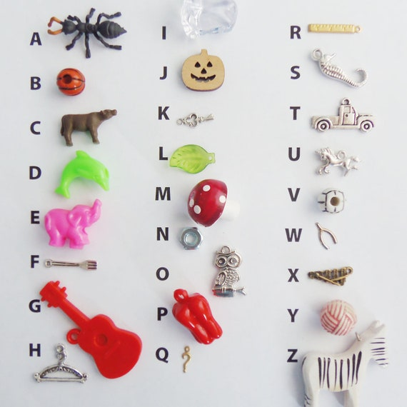 A to Z Trinkets M is for Mushroom - what you see is what you get - premium collection v11