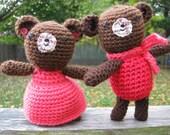 Valentine Couple Bears
