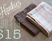 Hankies - Two for 15