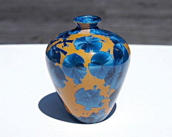Hand Made Porcelain Vase - Free Shipping