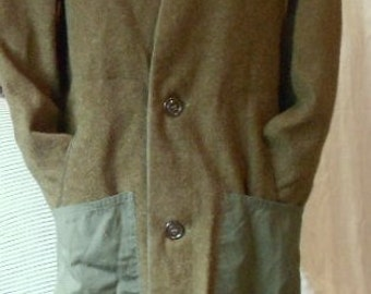 MILITARY OVERCOAT LINER, Vintage undercoat, quirky funky awesome, grunge steampunk hipster cool