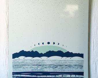 Sky & Earth Print