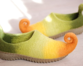 Rubber soles for Felted shoes