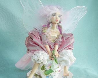 Custom OOAK Fairy Faerie Posable Art Doll By Moninesfaeries