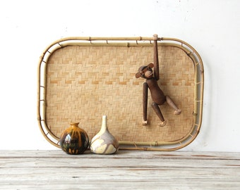 Large Tray with Bamboo Details (10 Available)