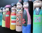 Japanese Clay Dolls