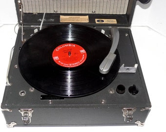 1940's Museum Quality Talking Book Record Player