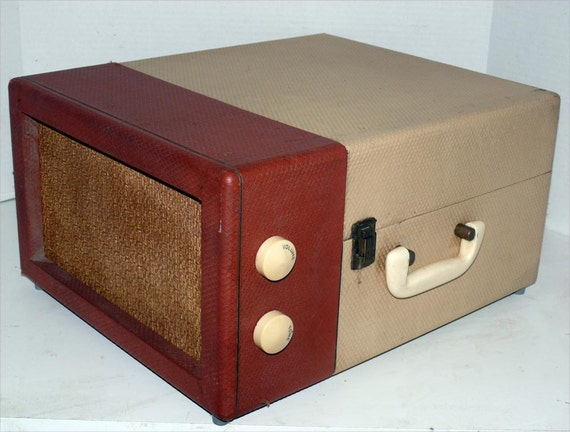 Automatic Portable Record Player with Warranty