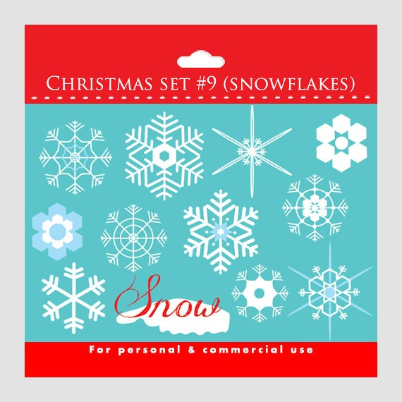 Snowflakes clipart - snow flakes, snow, flakes, white and blue, winter clipart, holiday clipart, Christmas clipart