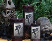Krampus The Yule Lord Pillar Candles. Gruss Vom Krampus . For Naughtly Little People
