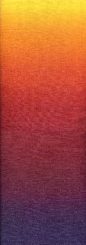 Ombre Graduating Colors Sunset Fabric 16 yards Reserved for